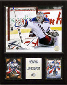 "NHL 12""x15"" Henrik Lundqvist New York Rangers Player Plaque"