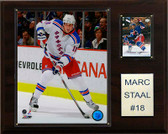 "NHL 12""x15"" Marc Staal New York Rangers Player Plaque"