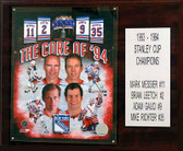 "NHL 12""x15"" Core Four New York Rangers Player Plaque"