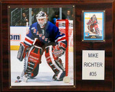 "NHL 12""x15"" Mike Richter New York Rangers Player Plaque"