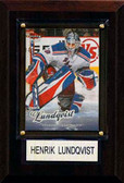 "NHL 4""x6"" Henrik Lundqvist New York Rangers Player Plaque"