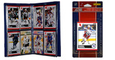 NHL New York Rangers Licensed 2010 Score Team Set and Storage Album