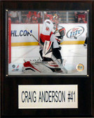 "NHL 12""x15"" Craig Anderson Ottawa Senators Player Plaque"