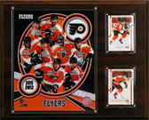 "NHL 12""x15"" Philadelphia Flyers 2011 Team Plaque"