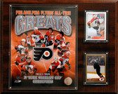 "NHL 12""x15"" Philadelphia Flyers All-time Great Photo Plaque"