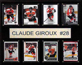 "NHL 12""x15"" Claude Giroux Philadelphia Flyers 8-Card Plaque"