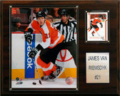"NHL 12""x15"" James Van Riemsdyk Philadelphia Flyers Player Plaque"