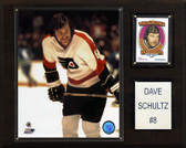 "NHL 12""x15"" Dave Schultz Philadelphia Flyers Player Plaque"