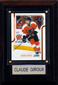 "NHL 4""x6"" Claude Giroux Philadelphia Flyers Player Plaque"