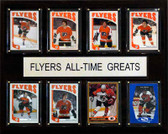 "NHL 12""x15"" Philadelphia Flyers All-Time Greats Plaque"