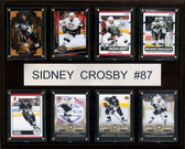 "NHL 12""x15"" Sidney Crosby Pittsburgh Penguins 8 Card Plaque"