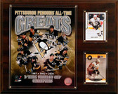 """NHL 12""""x15"""" Pittsburgh Penguins All-Time Greats Photo Plaque"""