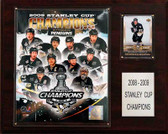 "NHL 12""x15"" Pittsburgh Penguins 2009 Stanley Cup Champions Plaque"