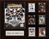"NHL 16""x20"" Pittsburgh Penguins 2009 Stanley Cup Champions Plaque"