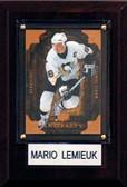 """NHL 4""""x6"""" Mario Lemieux Pittsburgh Penguins Player Plaque"""