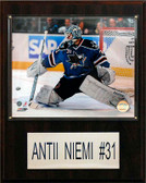 "NHL 12""x15"" Antii Niemi San Jose Sharks Player Plaque"