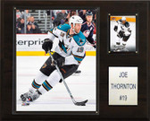 "NHL 12""x15"" Joe Thornton San Jose Sharks Player Plaque"