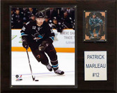 "NHL 12""x15"" Patrick Marleau San Jose Sharks Player Plaque"