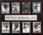 "NHL 12""x15"" Patrick Marleau San Jose Sharks 8-Card Plaque"