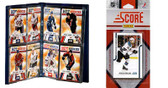 NHL San Jose Sharks Licensed 2011 Score Team Set and Storage Album