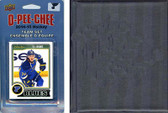 NHL St. Louis Blues 2014 O-Pee-Chee Team Set and a storage album