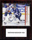 "NHL 12""x15"" Ben Bishop Tampa Bay Lightning Player Plaque"