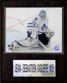 "NHL 12""x15"" Jean-Sebastien Gigure Toronto Maple Leafs Player Plaque"