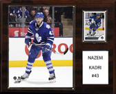 "NHL 12""x15"" Nazem Kadri Toronto Maple Leafs Player Plaque"