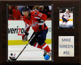 "NHL 12""x15"" Mike Green Washington Capitals Player Plaque"