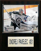 "NHL 12""x15"" Ondrej Pavelec Winnipeg Jets Player Plaque"