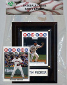 MLB Boston Red Sox Party Favor With 4x6 Plaque
