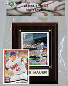 MLB Minnesota Twins Party Favor With 4x6 Plaque