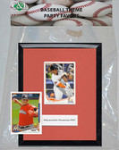 MLB Florida Marlins Party Favor With 6x7 Mat and Frame