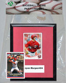 MLB Washington Nationals Party Favor With 6x7 Mat and Frame