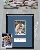 MLB San Diego Padres Party Favor With 6x7 Mat and Frame