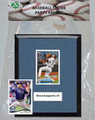 MLB Tampa Bay Rays Party Favor With 6x7 Mat and Frame