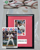MLB Cincinnati Reds Party Favor With 6x7 Mat and Frame