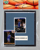 NBA Sacramento Kings Party Favor With 6x7 Mat and Frame