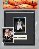 NBA Minnesota Timberwolves Party Favor With 6x7 Mat and Frame