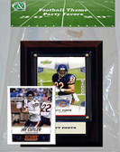 NFL Chicago Bears Party Favor With 4x6 Plaque