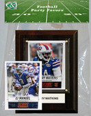 NFL Buffalo Bills Party Favor With 4x6 Plaque