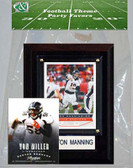 NFL Denver Broncos Party Favor With 4x6 Plaque