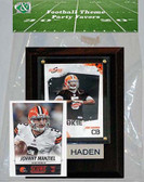 NFL Cleveland Browns Party Favor With 4x6 Plaque