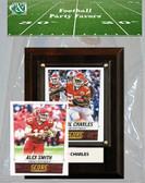 NFL Kansas City Chiefs Party Favor With 4x6 Plaque