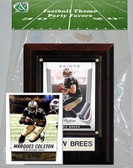 NFL New Orleans Saints Party Favor With 4x6 Plaque
