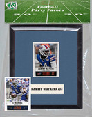 NFL Buffalo Bills Party Favor With 6x7 Mat and Frame