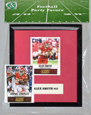 NFL Kansas City Chiefs Party Favor With 6x7 Mat and Frame