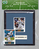 NFL Miami Dolphins Party Favor With 6x7 Mat and Frame