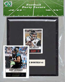 NFL Jacksonville Jaguars Party Favor With 6x7 Mat and Frame