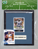NFL Detroit Lions Party Favor With 6x7 Mat and Frame